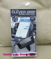 bell howell - Bell Howell Clever Grip MAX Portable Phone Mount for most Smartphones Car Holder