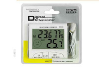 Cheap 2015 New LCD Digital Thermometer Hygrometer Temperature Humidity Meter Tester Clock w  Magnetic DC102 DC103 Weather Station