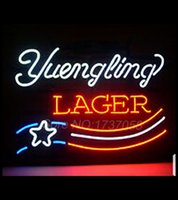 american lager - Hot neon sign commercial custom neon sign NEW LAGER AMERICAN FLAG REAL NEON GLASS BEER BAR PUB LIGHT SIGN NRRT quot X14 quot