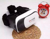 Wholesale Oculus Head Mount Plastic VR BOX Version Virtual Reality Cinema Glasses Rift Google Cardboard D Movie for quot quot Smart Phone
