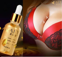 Wholesale 20pcs ml AFY Breast Cream Bust up Breast Enlargement Oils Essential Oils Beauty Butt Enhance Cream