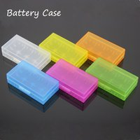 Wholesale Plastic Battery Case Storage Box Battery Holder Box For MNKE Battery VTC5 VTC4 Battery in Stock