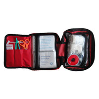Wholesale FS Hot Portable First Aid Kit Set For Outdoor Travel Sports Emergency Survival Indoor Or Car Treatment Pack Bag order lt no track