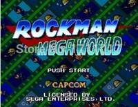 Wholesale Rock Man Mega World bit MD Game Card For Sega Mega Drive For Genesis