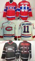 Wholesale Canadiens brendan gallagher Cheap Hockey Jerseys ICE Winter mens women kids Stitched Jersey