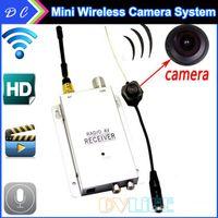 1.2g wireless camera - NEW mini G wireless Micro Hidden Pinhole Camera Camcorder G receiver Nanny RC Cam CCTV security surveillance kit System