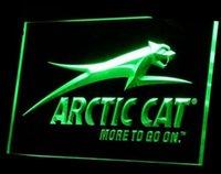 arctic cat logos - TR Arctic Cat Snowmobiles Logo ADV LED Neon Light Sign