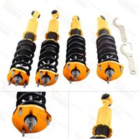 adjustable height suspension - Suspension Coilover Shock Absorbers For LEXUS IS Damper Car Accessories Golden Best Way Adjustable Height Camble