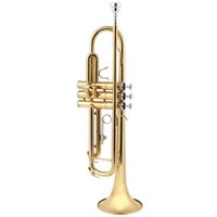 Wholesale 2015 Gold cm Length Brass Band Latest Europe design B Flat Trumpet with Tools MIA_612