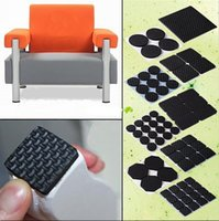 Wholesale 80Pcs Table Chair Furniture Floor Anti Scratch Protectors Pads Skid Slip Self Adhesive FG08139