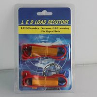 Wholesale New coming W ohm LED Load Resistor For Car Resistors auto with retail box