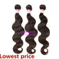 Cheap hair weft hair growth can be hot dye affinity modeling Ombre hair curly hair Human hair Braided hair Human hair wigs black wome
