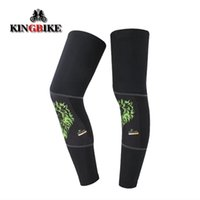 Wholesale Outdoor sports riding bicycles in summer sun sets Leg Leggings perspiration breathable cycling equipment