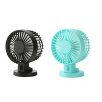 Wholesale 2 Colors USB Portable Desk Mini Fan with Switch for Office Use DC V mA Super Mute Cooler High Air Flow Adjustable Speed