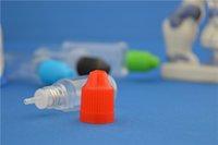 Wholesale Aliexpress ml PET Plastic Dropper Bottle With Childproof Cap ml Plastic Bottle Plastic Eye Dropper Bottle