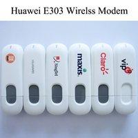 Wholesale Mini Unlocked Huawei E303 Wirelss Modem WCDMA GSM Mbps G Mobile Broadband Wirelss Modem USB SIM Card Data Network Wireless Dongle