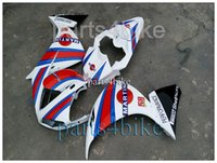 abs articles - ABS Fairing For Yamaha YZFR1 YZF R1 MARTINI white and red fairings Article red and blue black R1