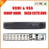 Wholesale New HDMI VGA ch CCTV DVR Recorder with P2P Cloud Easy Remote Access Channel Real Time Standalone P HDMI OUTPUT