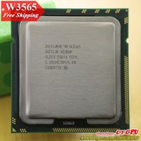 intel xeon server cpu - Intel Xeon W3565 CPU processor GHz LGA1366 MB L3 Cache Quad Core server CPU there are sell X CPU