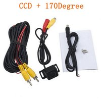 Wholesale 2015 Hot pc Anti Fog Glass Waterproof CMOS Car Rear View Reverse Backup Camera Drop Shipping