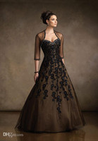 dresses shop - 2015 cheap Ceremony New Design Ball Gown Party Dress Tulle Jacket Half Sleeve Mother Of the Bride Dresses Shopping Online