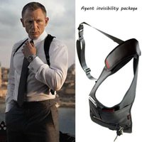 Wholesale Men invisibility package Armpit Waist Messenger Shoulder Crossbody MP3 Phone Key Purse Travel Camping Riding Bags