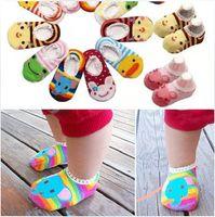 Wholesale 2015 Nonskid baby girls socks Nonslip Toddler Footgear Baby Shoe Sock baby booties sox HW