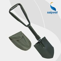 Wholesale Chinese survival equipment camping multifunctional sapper shovel military emergency folding Spade car rescue gear