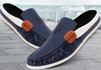 Wholesale 2015 spring summer new products man casual leather shoes korean style Men shoes fashion joker male Doug shoes three color ab2359