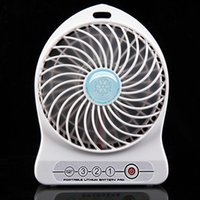 Wholesale Free DHL whole sale Portable Lithium Battery Rechargeable Fan Desk Table Fan USB Mini Fan With Retail Package
