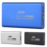 Wholesale mini SATA SSD to USB External Adapter Half size SSD Enclosure Case Box F1824 W0 SUP5