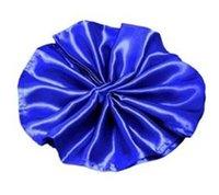 Wholesale High quality Royal blue satin napkin size45cm cm