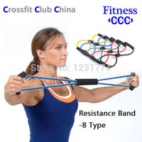 Wholesale Resistance Bands Tube Workout Exercise Fitness For Yoga