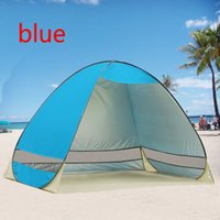 Wholesale Freeshipping UV Protection Quick Automatic Opening Beach Tent Protable Ultraviolet proof summer beach tent