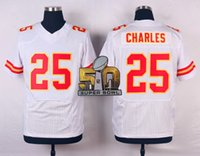 Wholesale Charles Football Jerseys with Super Bowl Patches Men Popular Football Shirts Authentic Football Uniform Stitched Football Apparel