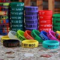 Wholesale 2015 Hot Non Slip Mod Silicone Ring Silicon Vape Band Ring For Mechanical Mods E Cigarette Atomizers Mods Accessories ECP29