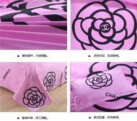 Cheap Hot sale!2015 New Brand Reactive Printing bedding duvet cover Bedding sheet bedspread pillowcase set