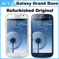 wifi mobile phone - Original Refurbished Unlocked Samsung Galaxy Grand Duos i9082 inch GB RAM GB ROM Dual SIM MP WiFi GPS WCDMA G Android Mobile Phone