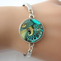 aqua swirls - 1 pc AQUA SWIRL Glass Pendant Flourish Swirls Aqua and Brown Gifts for Her Swirl Jewelry Aqua alloy sex bangle