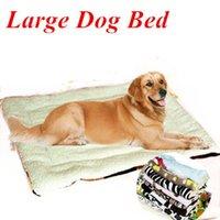 big dog kennel - Multicolor Large Dog Bed Kennel Mat cm Cotton Super Soft Blanket Big Beds for Pets Animals Large Dog