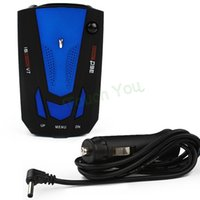 Wholesale New Hot Sale Anti Speed Radar Detector Voice Alert Russian English Voice for Car Speed Limited Radar Detector