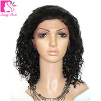 beyonce long hair - Top Quality Virgin Peruvian Curly beyonce Lace Wigs A Glueless Full Lace Wigs Kinky Curly Remy Human Hair for Black Women