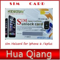 Wholesale RSIM Arrival Ultrathin Unlock sim Heicard for iphone Plus Fast unlock Stable Signal for most operator carriers ios