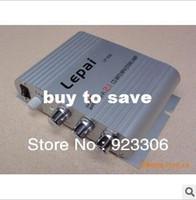Wholesale sets Super Bass LP Channel Stereo Mini Computer Car Amplifier Subwoofer OutB60