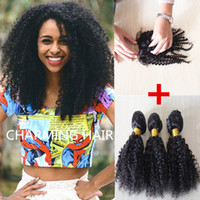 Cheap Malaysian Hair lace closure bundles Best kinky curly virgin malaysian hair afro kinky with closure