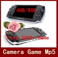 Cheap 4.3 inch handset game player Best No 8GB Game Console