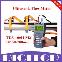 Wholesale 2015 New Arrival TDS H M2 Ultrasonic Flow Meter Flow meter Clamp on Sensor DN50 mm With High Quality