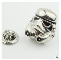 Wholesale Cartoon Star Wars Pins Star Wars Jedi Knight Darth Vader Brooches Pins Star Wars Brooches Star Wars Pins Christmas Gifts m955