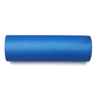 Wholesale 18 quot x quot EVA Yoga Pilates Fitness Foam Roller With Massage Floating Point Blue