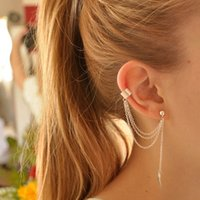 american personalized products - foreign trade special products personalized metal leaf earrings ear clip earrings ear clip